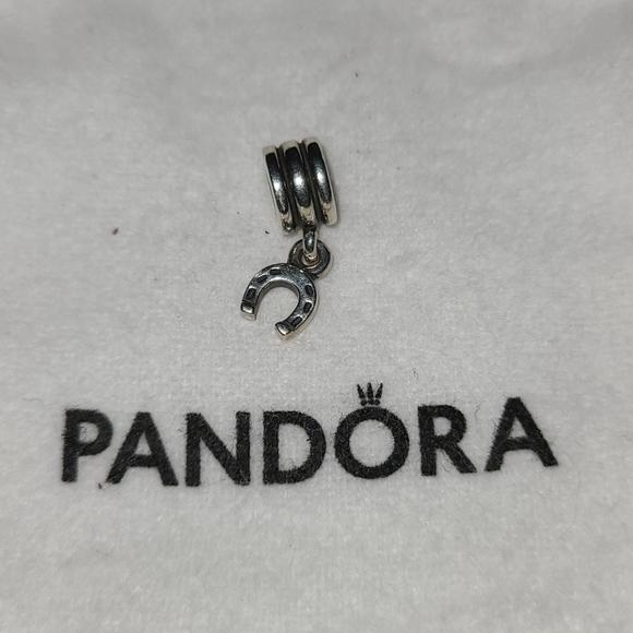 Pandora charm- horseshoe